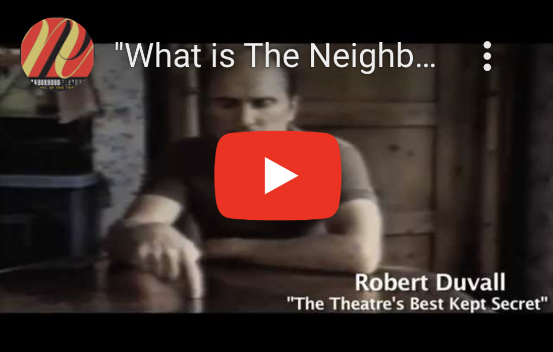 YouTube Video Thumbnail: What is the Neighborhood Playhouse?