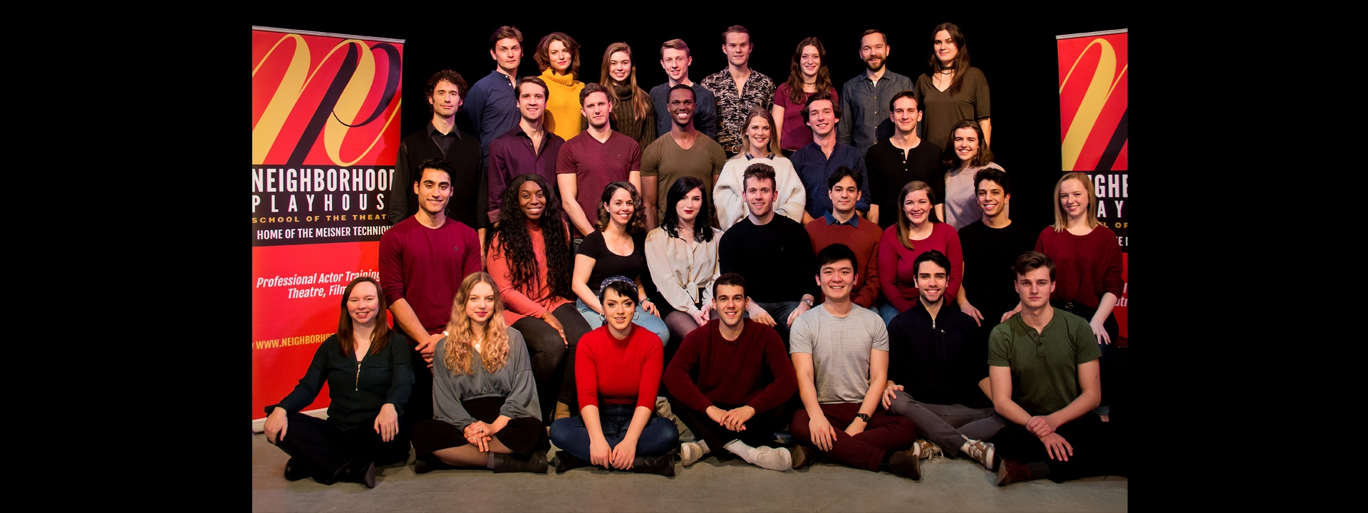 Slide: The Class of 2018 joins a 90 year legacy of excellence in actor training.