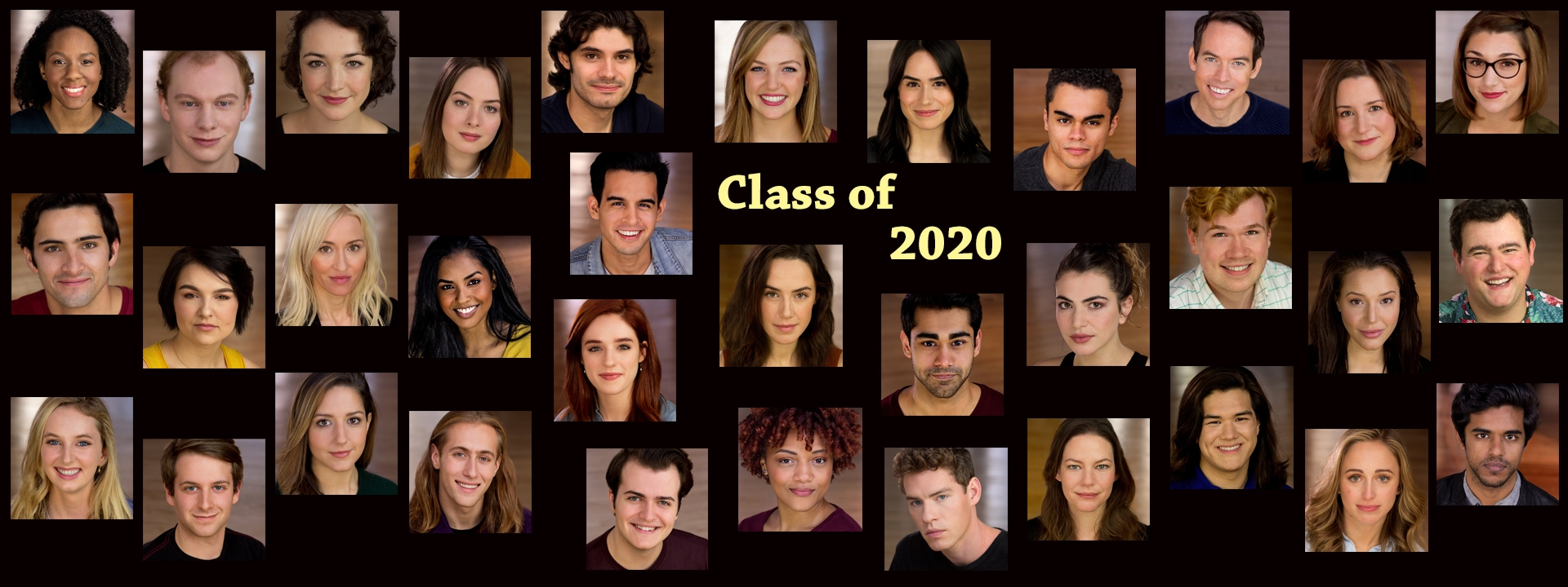 Slide: The Neighborhood Playhouse proudly presents this year's graduates.